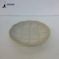 Đĩa Hoa Văn Chìm 21cm - Mẫu 2