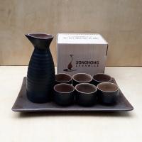 Bộ Bình Rượu Sake - Mẫu 2