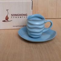 Tách Cafe Đất Màu 140ml - Mẫu 13