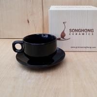 Tách Cafe Men Màu 150ml - Mẫu 6