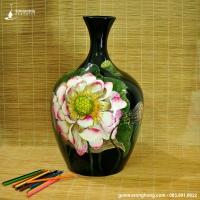 Bình Hoa Sơn Mài - Mẫu 09