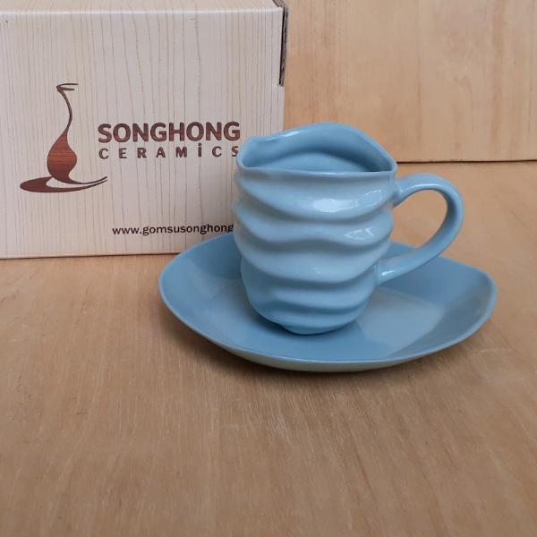 Tách Cafe Đất Màu 140ml - Mẫu 1