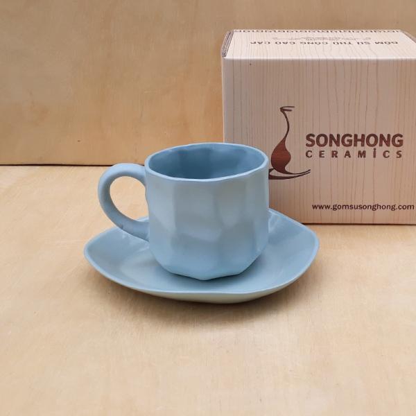 Tách Cafe Đất Màu 200ml - Mẫu 2