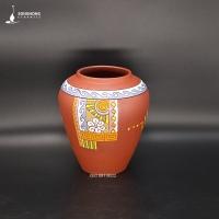 Bình Gốm Đất Đỏ 21cm - Mẫu 3
